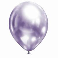 """Гелиевый шар 12"""" 30см хром Lilac сиреневый"""