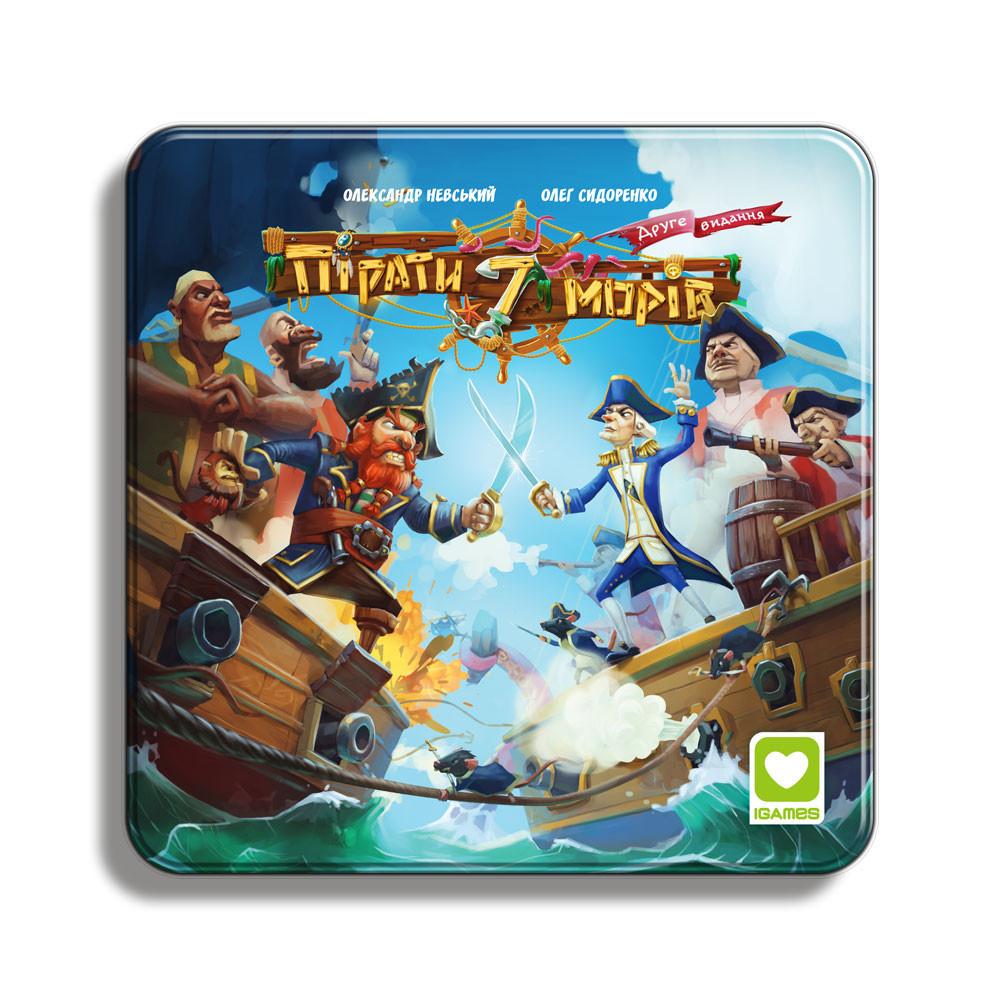 Пірати 7 морів настільна гра
