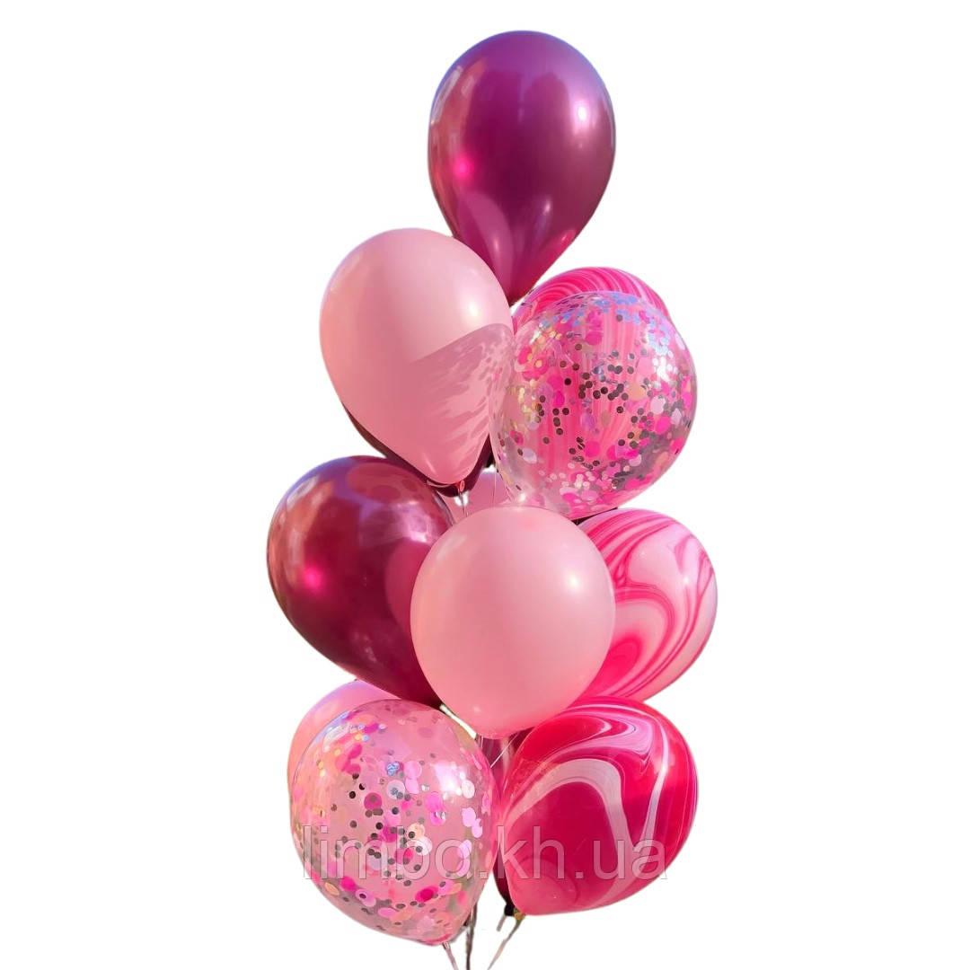 Набір куль на день народження для дівчат
