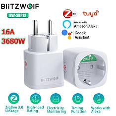 BlitzWolf BW-SHP13 WiFi розумна розетка, розумний будинок. Моніторинг енергоспоживання