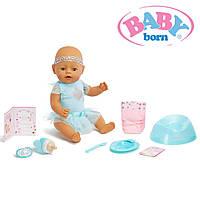 Интерактивная кукла пупс Беби Борн Очаровательная малышка Baby Born Interactive Baby