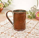 Дуже старий мідний кухоль, кухлик, мідна чашка, мідь, Німеччина, 250 мл, фото 2