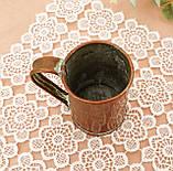 Дуже старий мідний кухоль, кухлик, мідна чашка, мідь, Німеччина, 250 мл, фото 5