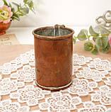 Дуже старий мідний кухоль, кухлик, мідна чашка, мідь, Німеччина, 250 мл, фото 7