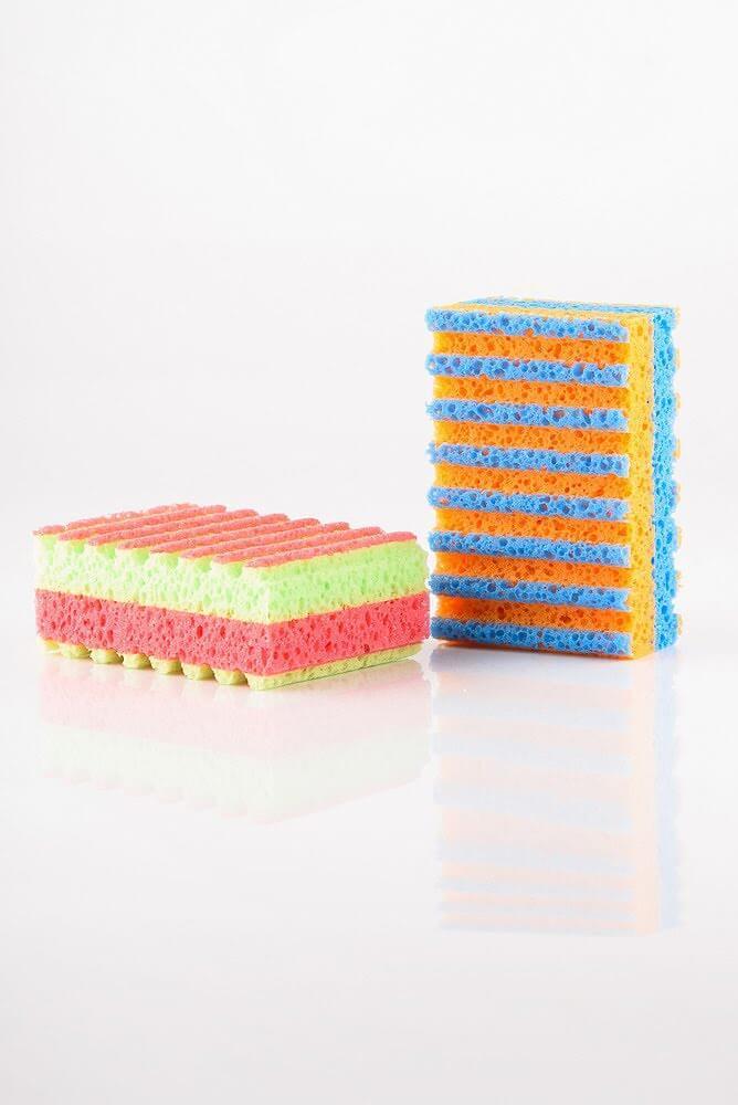 MARTINI SPA Extra Gentle Multicolours Body Sponge Екстра ніжна багатокольова губка для тіла