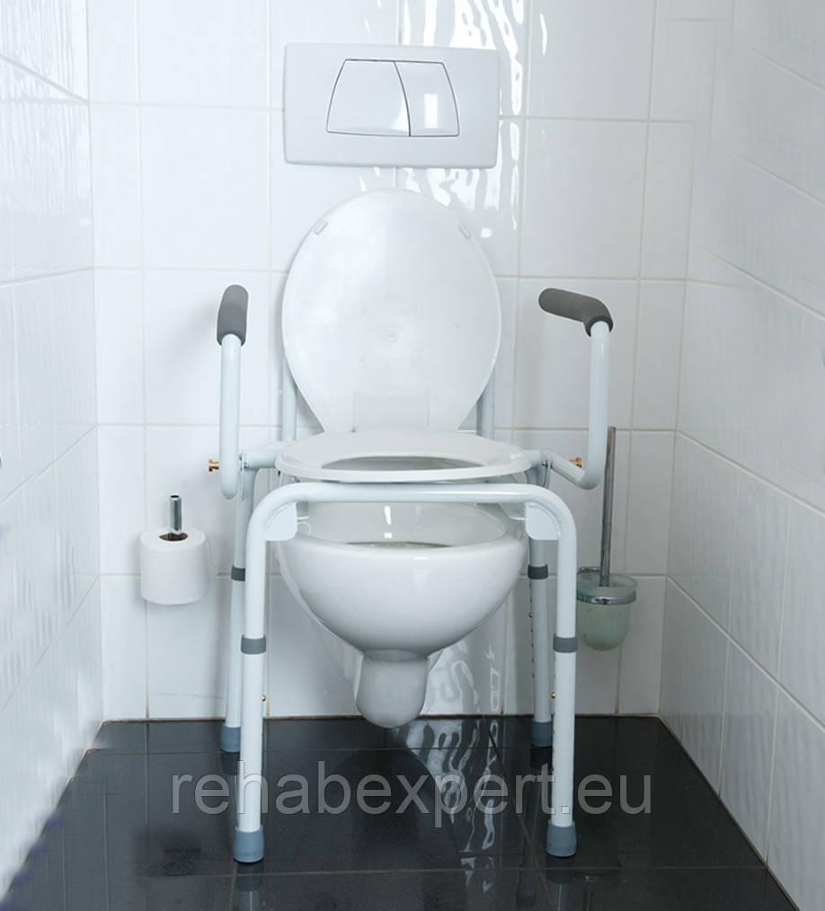 """Стул-туалет для инвалидов Vermeiren STACY Commode Chair - Double Function - OOO """"Рехаб Эксперт"""" - Медицинское Оборудование для Клиник и Реабилитации Пациента в Киеве"""