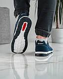 Кроссовки демисезонные мужские синего цвета (КФ-16с), фото 6