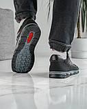 40 Розмір!!! Кросівки чоловічі літні сітка чорні (Кл-54тср), фото 2