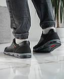 40 Розмір!!! Кросівки чоловічі літні сітка чорні (Кл-54тср), фото 4
