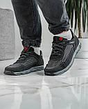 40 Розмір!!! Кросівки чоловічі літні сітка чорні (Кл-54тср), фото 6