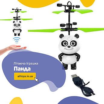 Летающая игрушка  Панда , интерактивная детская игрушка
