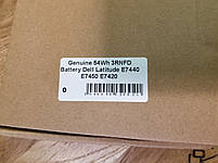 Оригінальна батарея для ноутбука Dell Latitude E7420 E7440 E7450 - (3RNFD), фото 4