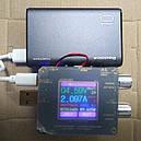 Power Bank Зовнішній акумулятор 10000мАч 2xUSB Reddax RDX-256, чорний, фото 3
