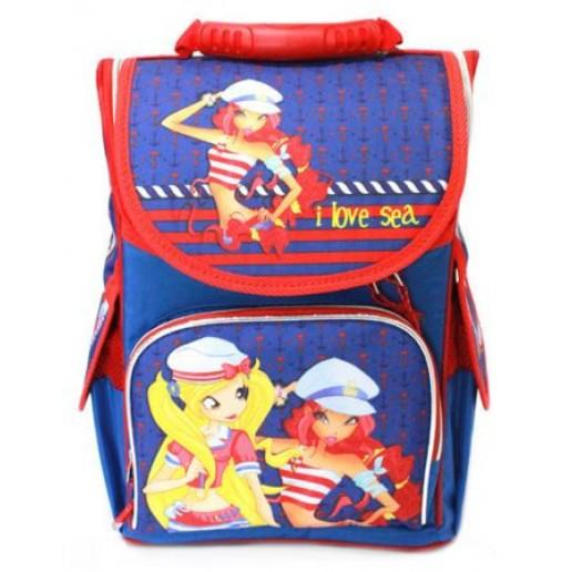 Рюкзак школьный Smile WINX Captain 34,5*25,5*13 см (987946)