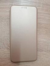 Чехол-книжка для Samsung A12 Level Gold