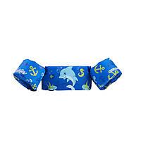 Детские нарукавники жилет puddle jumper stearns для плавания не надувные Puddle Jumper с дельфинчиком