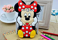 Резиновый 3D чехол для Samsung Galaxy A5 A500 Minnie Mouse