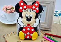 Резиновый 3D чехол для Samsung Galaxy A5 A500 Minnie Mouse, фото 1