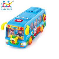 Игрушка Huile Toys Танцующий автобус 908