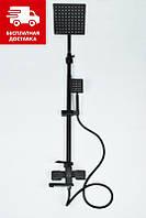 Душевая колонна из нержавеющей стали Mixxus KUB 009 J Black Бесплатная доставка