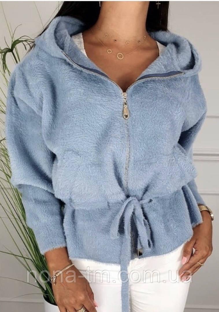 Стильна куртка жіноча з кашеміру