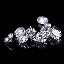 Синтетичний діамант HPHT 4 мм