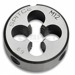 Плашка метрична, M6x1,0 мм Spitce 49-575 | метрическая