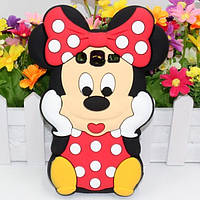 Резиновый 3D чехол для Samsung Galaxy Grand 2 Duos G7102 Minnie Mouse