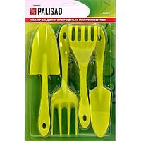 Набор садового инструмента, полипропиленовый, 4 предмета, Россия, Palisad