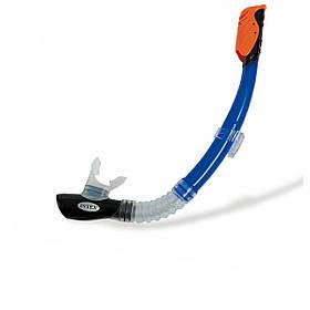 Трубка для плавання Intex 55924, синя