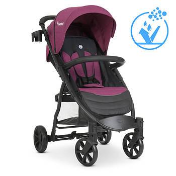 Коляска прогулянкова дитяча EL CAMINO M 3409 FAVORIT v.2 Purple від народження до 3 років