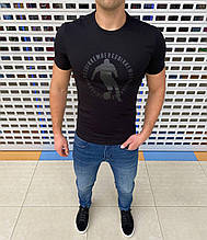 Мужская футболка Bikkembergs H1336 черная
