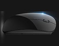 Аккумуляторная компьютерная мышь Azzor K1 Беcпроводная мышка Apple style глянцевый