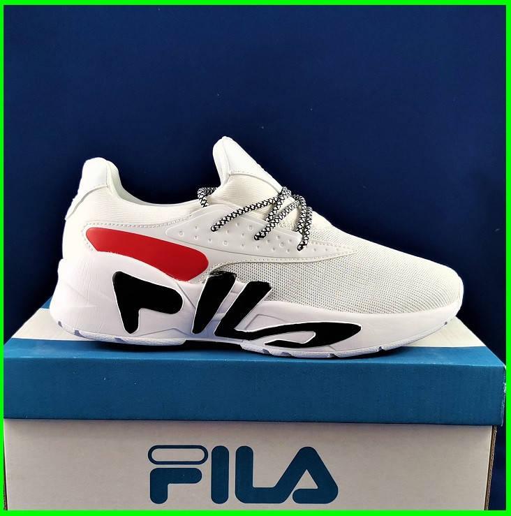Кроссовки FILA Белые Мужские Фила (размеры: 41,42,43,44,45) Видео Обзор, фото 2
