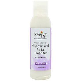 Средство для очистки лица с гликолиевой кислотой, Клинсер (118 мл) Reviva Labs