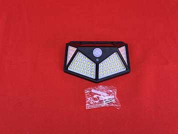Уличный светильник BK-100 c солнечной батареей, датчиком движения и датчиком света
