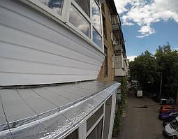 Шумоизоляция для козырьков балконов, отливов и крыш самоклеящаяся
