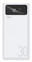 Повербанк REMAX Hunyo Series with Display 30000mAh RPP-112 |4USB/1Type-C/Lightning, 2.1A| Белый