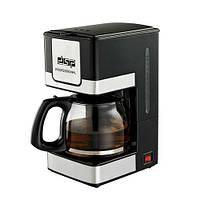 Профессиональная кофеварка капельная DSP Kafe Filter черная кофемашина KA-3024