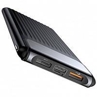 PowerBank с быстрой зарядкой QC3.0 BASEUS Thin Digital display 10000mAh |QC3.0, Type-C/2USB, 3A|