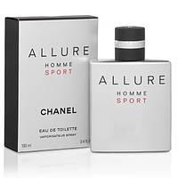 Туалетная вода мужская Allure homme Sport 100ml парфюм духи Шанель Аллюр Хом Спорт