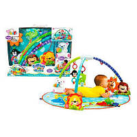 Детский розвивающий игровой напольный коврик 63504 коврик для младенца