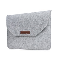 Чехол конверт войлочный для MacBook Air и Pro 13`3 сумка из войлока на Макбук Аир и Про серый
