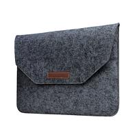 Чехол конверт войлочный для MacBook Air и Pro 13`3 сумка из войлока на Макбук Аир и Про тёмно-серый