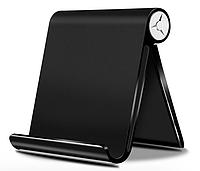 Подставка для мобильного телефона, смартфона, планшета держатель на стол OLAF Черный