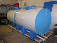 Металеві ємності 1000 л дизельного палива