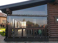 Мягкое стекло для окон, беседок, теплиц, террас Мягкое окно Soft Glass 1.8 х 1.4 м (толщина 1мм) Прозрачное