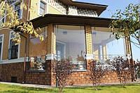 Мягкое стекло для окон, беседок, теплиц, террас Мягкое окно Soft Glass 3.2 х 1.4 м (толщина 1мм) Прозрачное