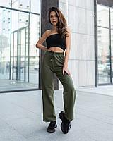 Жіночі спортивні штани кюлоти Staff green, фото 1