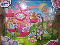 """Игровой набор для девочек """"Домик для пони"""" 799/ My loveing pony"""